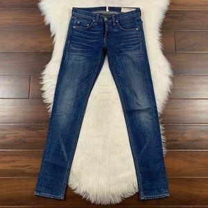 Rag & Bone Slim Boyfriend Dre Denim Jeans